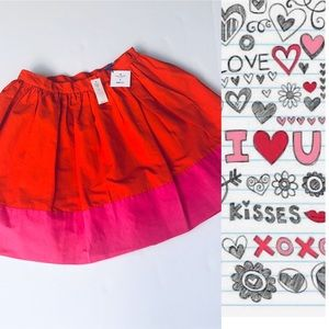 NWT KATE SPADE FOR GAPKIDS COLORBLOCK SKIRT